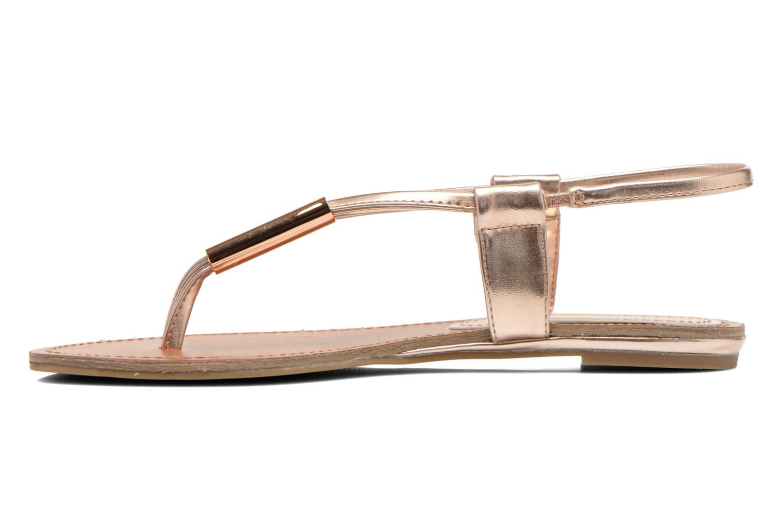 Sandales et nu-pieds Steve Madden Hamil Or et bronze vue face