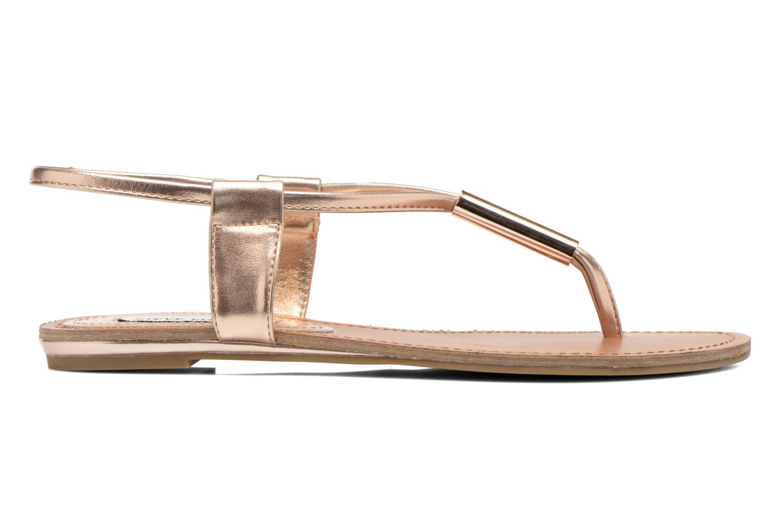 Sandals Steve Madden Hamil Bronze and Gold back view