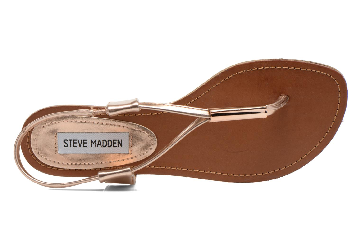 Sandals Steve Madden Hamil Bronze and Gold view from the left