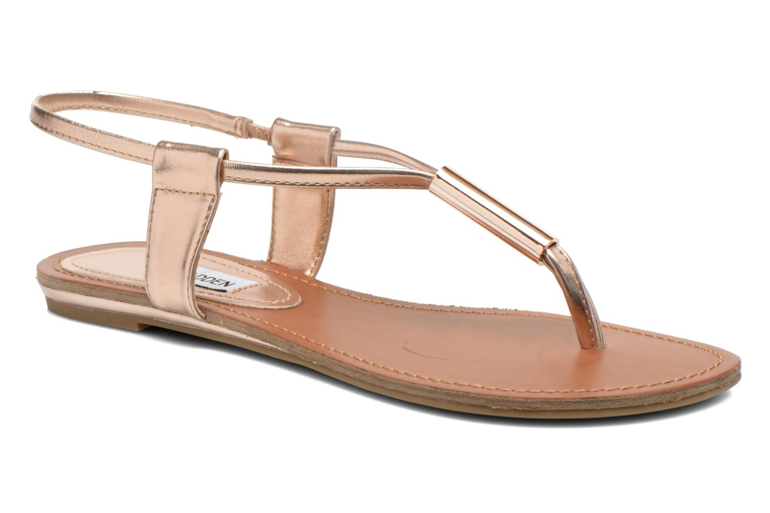 Sandals Steve Madden Hamil Bronze and Gold detailed view/ Pair view