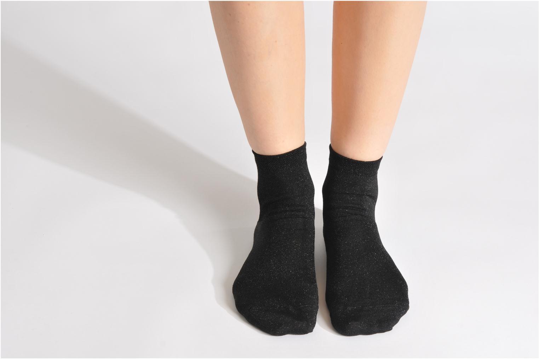 Socken & Strumpfhosen My Lovely Socks Jo schwarz ansicht von unten / tasche getragen