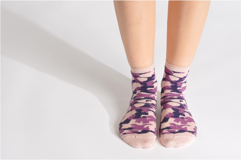 Socken & Strumpfhosen My Lovely Socks Anna rosa ansicht von unten / tasche getragen