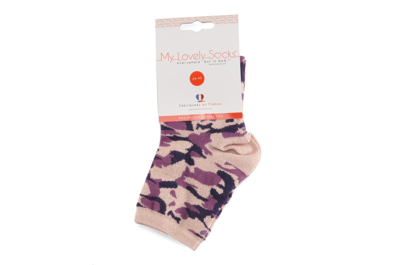Socken & Strumpfhosen My Lovely Socks Anna rosa ansicht von hinten