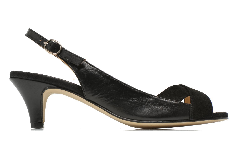 Sandales et nu-pieds Jonak BAZOR Noir vue derrière