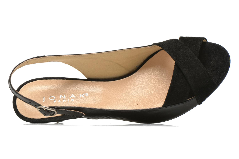Sandales et nu-pieds Jonak BAZOR Noir vue gauche