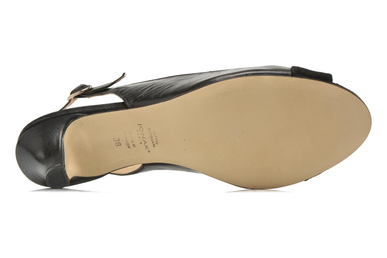 Sandales et nu-pieds Jonak BAZOR Noir vue haut