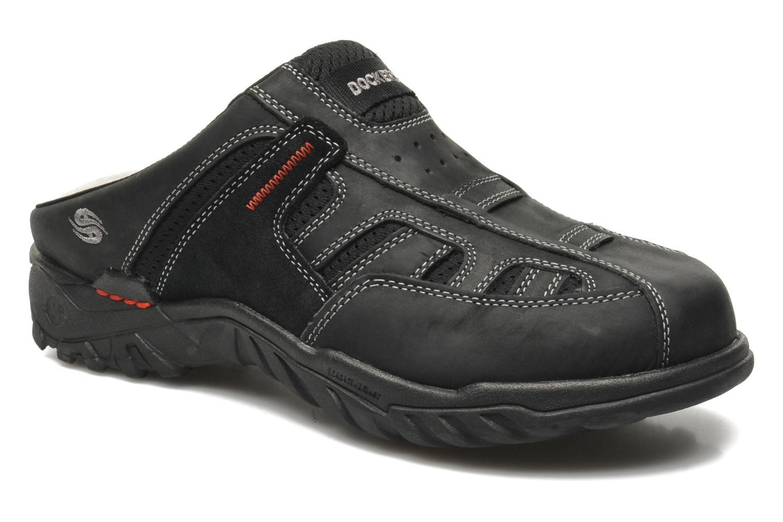 Sandales et nu-pieds Dockers Sibil Noir vue détail/paire