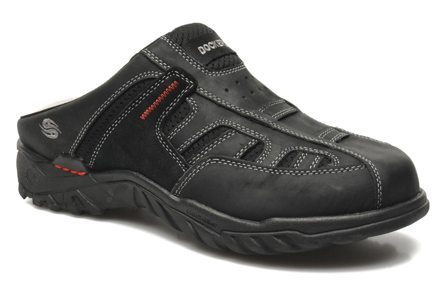 Sandals Dockers Sibil Black detailed view/ Pair view