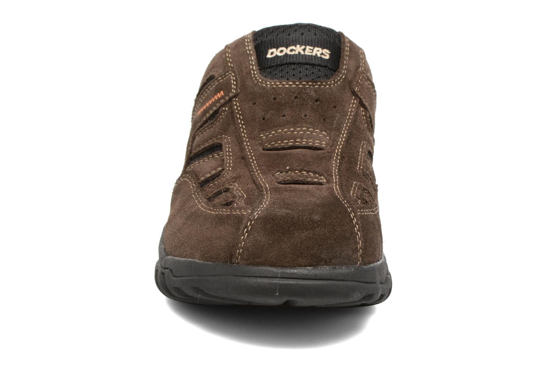Sandales et nu-pieds Dockers Sibil Marron vue portées chaussures