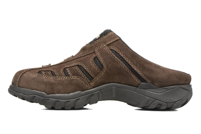 Sandales et nu-pieds Dockers Sibil Marron vue face