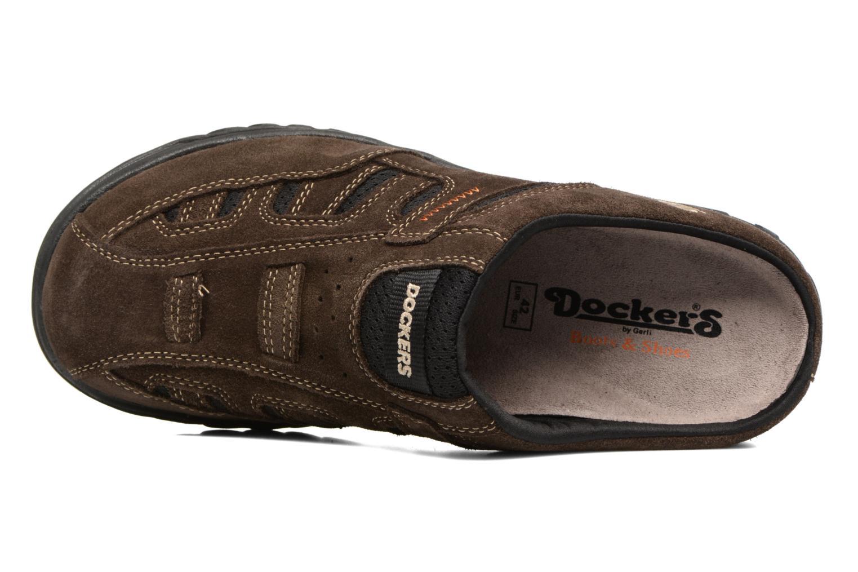 Sandales et nu-pieds Dockers Sibil Marron vue gauche