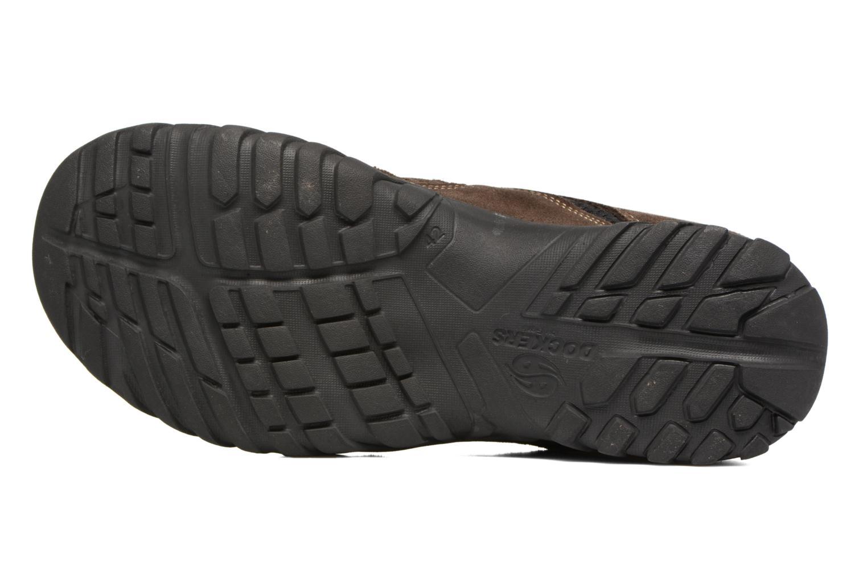 Sandales et nu-pieds Dockers Sibil Marron vue haut