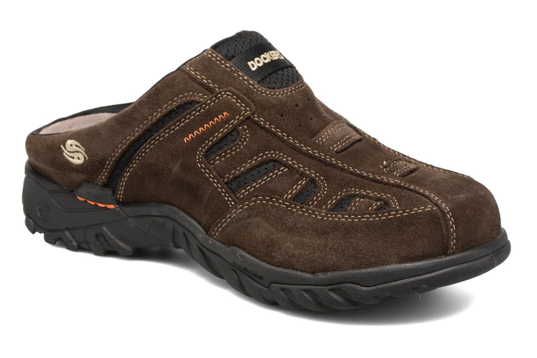 Sandales et nu-pieds Dockers Sibil Marron vue détail/paire