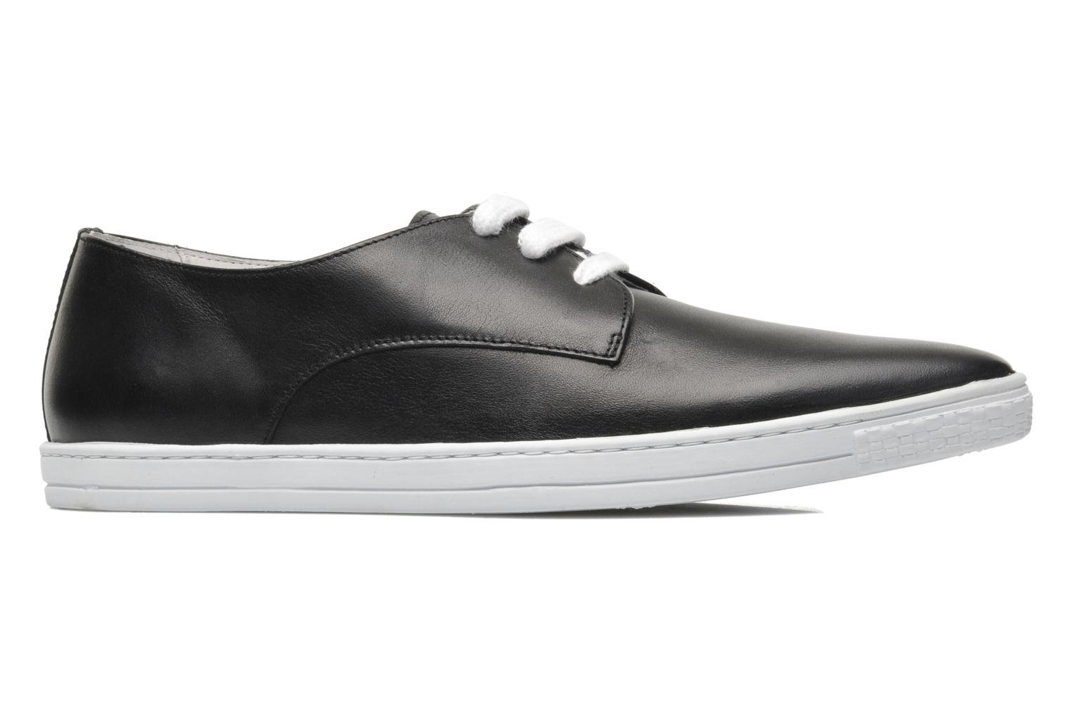 Donna 2 Black smooth leather
