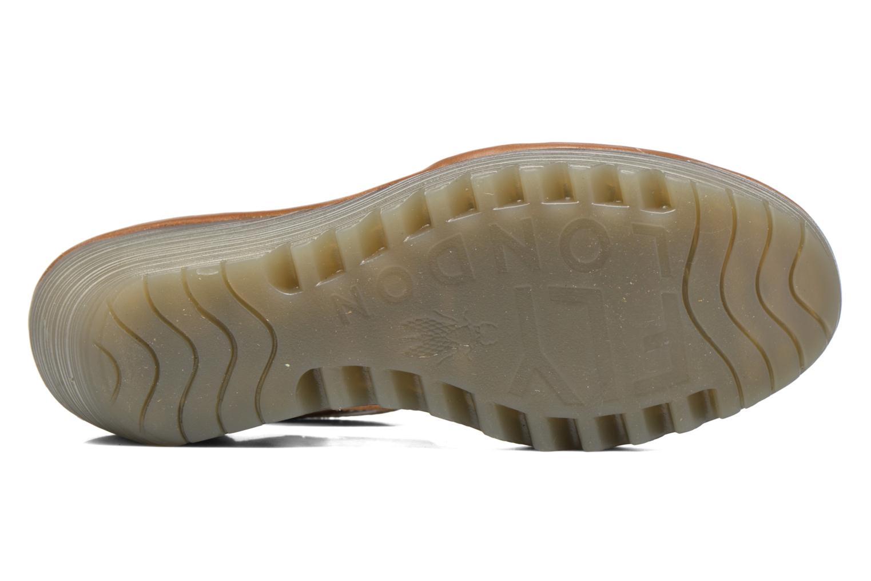 Sandales et nu-pieds Fly London Yesk Marron vue haut