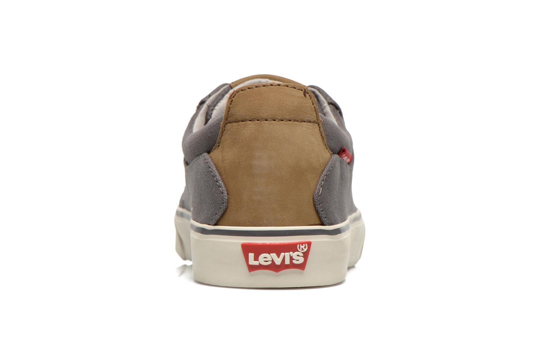 Baskets Levi's Justin Low Lace Gris vue droite