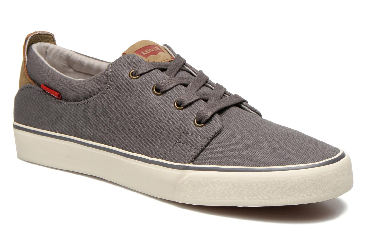 Sneaker Levi's Justin Low Lace grau detaillierte ansicht/modell