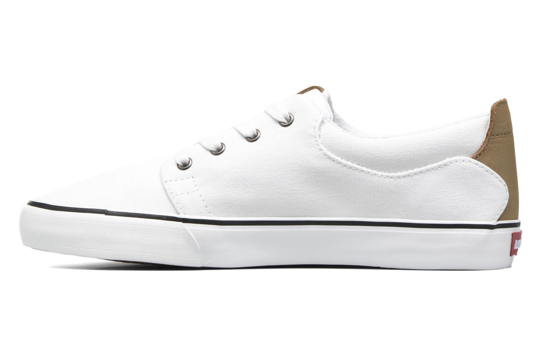 Sneaker Levi's Justin Low Lace weiß ansicht von vorne
