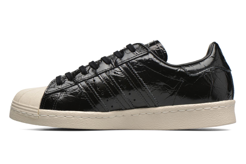 Trainers Adidas Originals Superstar 80S W Black front view