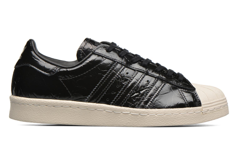 Trainers Adidas Originals Superstar 80S W Black back view