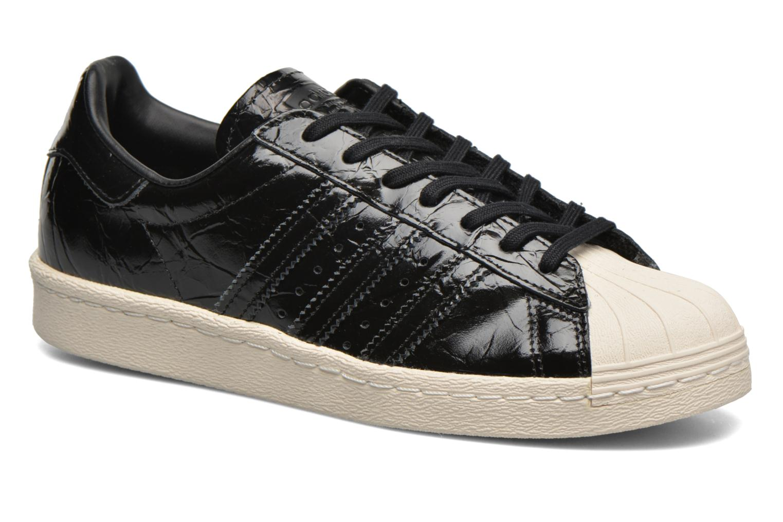 Trainers Adidas Originals Superstar 80S W Black detailed view/ Pair view