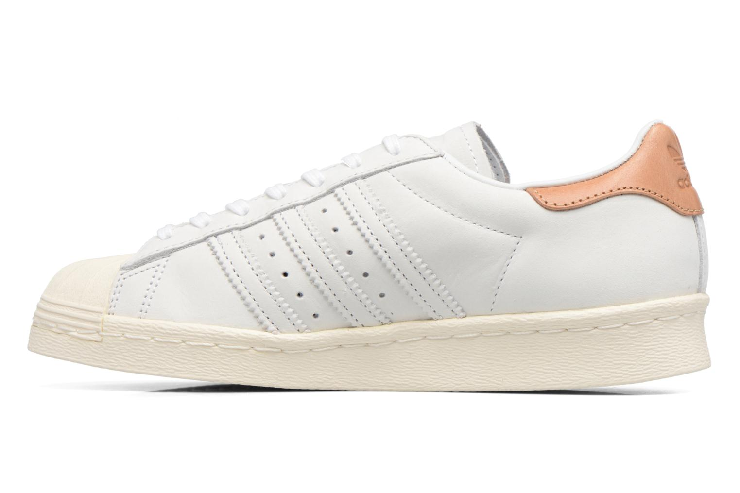 Trainers Adidas Originals Superstar 80S W Beige front view
