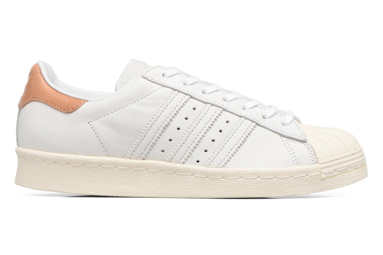 Baskets Adidas Originals Superstar 80S W Beige vue derrière