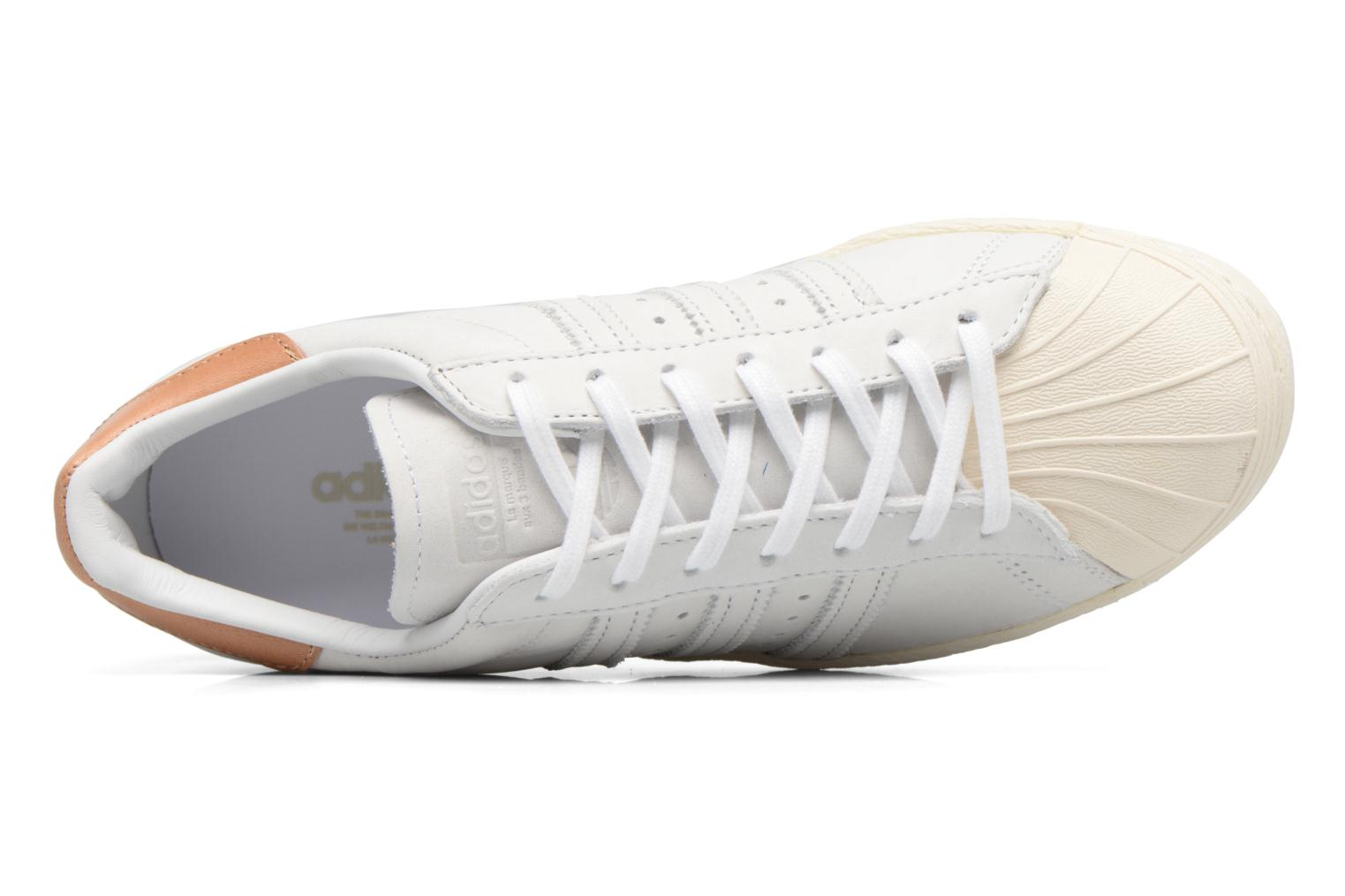 Sneakers Adidas Originals Superstar 80S W Beige se fra venstre