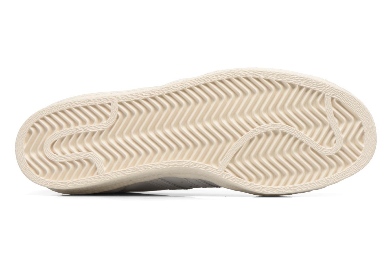 Sneakers Adidas Originals Superstar 80S W Beige immagine dall'alto