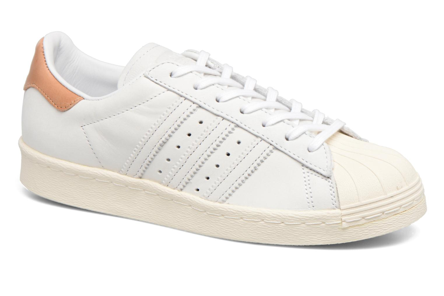 Trainers Adidas Originals Superstar 80S W Beige detailed view/ Pair view