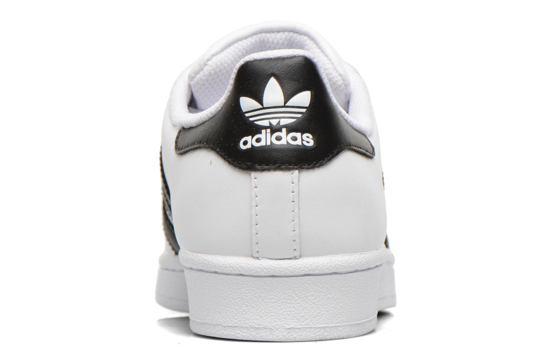 Deportivas Adidas Originals Superstar W Blanco vista lateral derecha