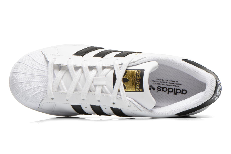 Deportivas Adidas Originals Superstar W Blanco vista lateral izquierda