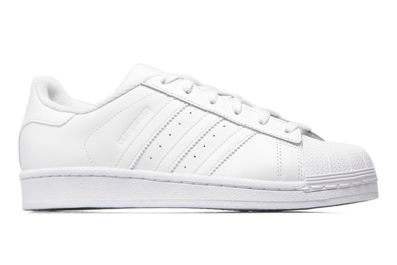 Sneakers Adidas Originals Superstar W Hvid se bagfra