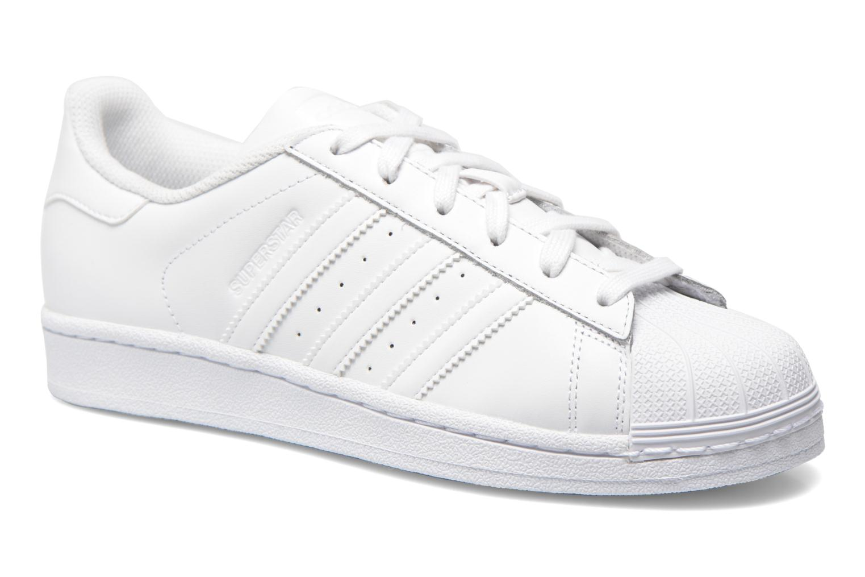 Sneakers Adidas Originals Superstar W Hvid detaljeret billede af skoene
