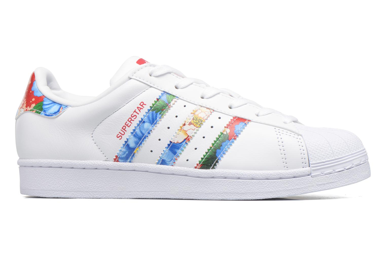 Sneaker Adidas Originals Superstar W weiß ansicht von hinten