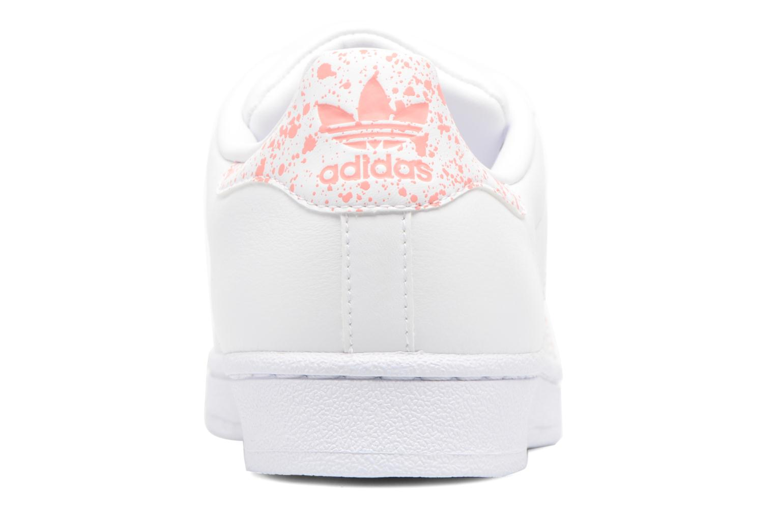 Trainers Adidas Originals Superstar W White view from the right