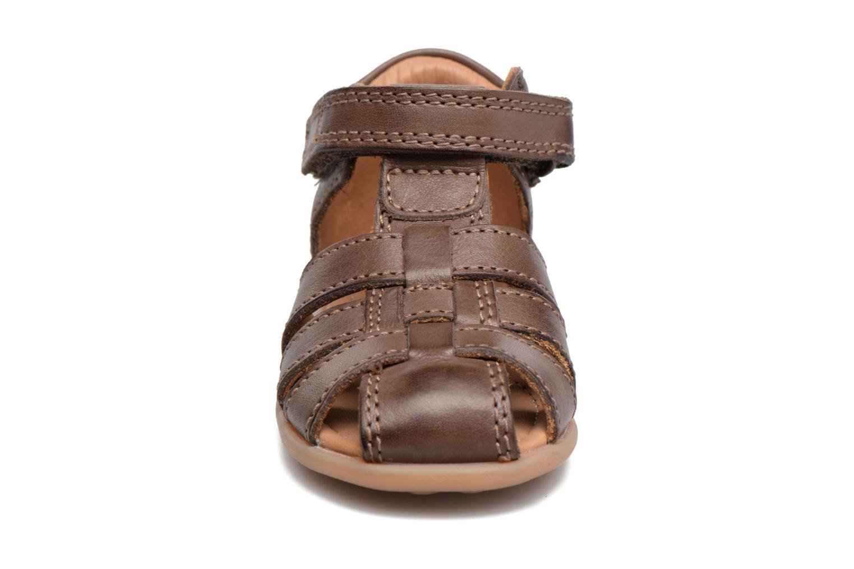 Sandalen Bisgaard Birthe braun schuhe getragen