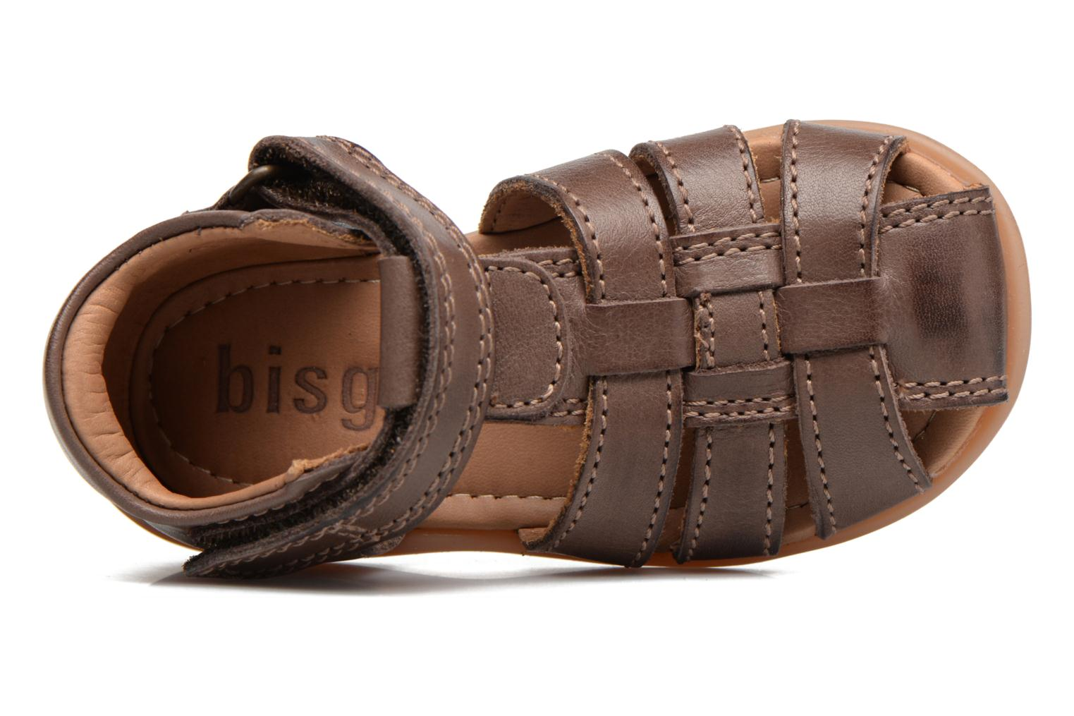 Sandals Bisgaard Birthe Brown view from the left