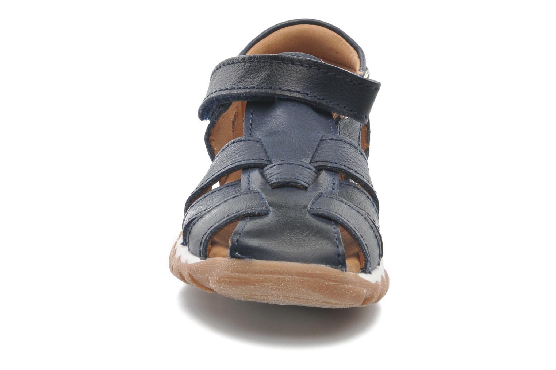 Sandales et nu-pieds Bisgaard Karen Bleu vue portées chaussures
