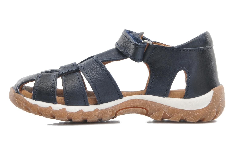 Sandales et nu-pieds Bisgaard Karen Bleu vue face