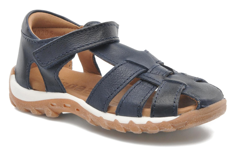 Sandales et nu-pieds Bisgaard Karen Bleu vue détail/paire