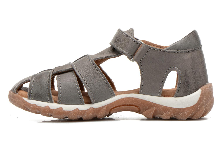 Sandales et nu-pieds Bisgaard Karen Gris vue face