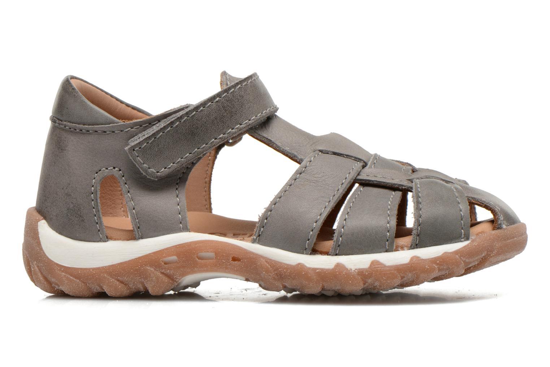 Sandales et nu-pieds Bisgaard Karen Gris vue derrière