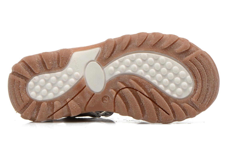 Sandales et nu-pieds Bisgaard Karen Gris vue haut