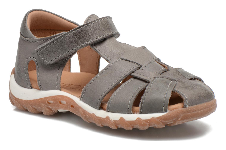 Sandales et nu-pieds Bisgaard Karen Gris vue détail/paire