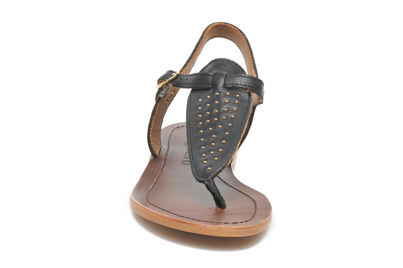 Sandales et nu-pieds Bisgaard Pia Noir vue portées chaussures
