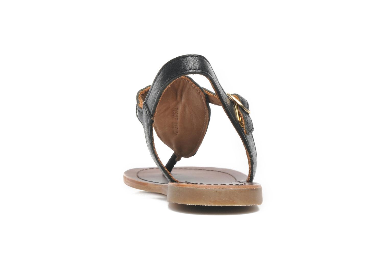 Sandales et nu-pieds Bisgaard Pia Noir vue droite