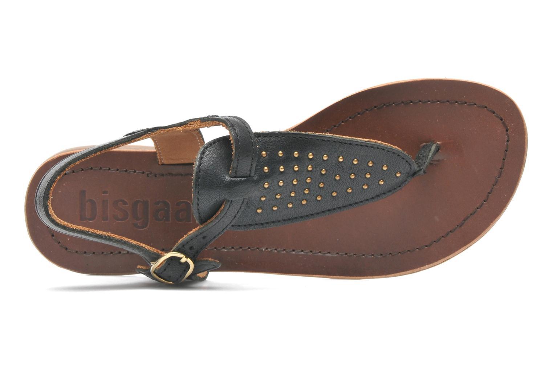 Sandales et nu-pieds Bisgaard Pia Noir vue gauche