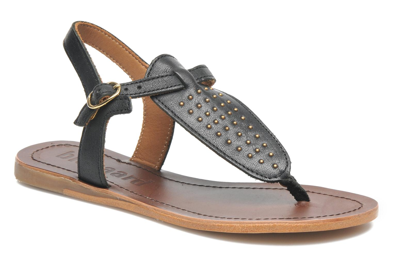 Sandales et nu-pieds Bisgaard Pia Noir vue détail/paire