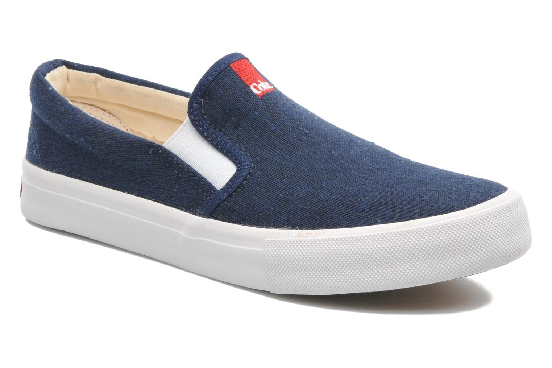 Sneakers Coca-cola shoes Iate Blauw detail